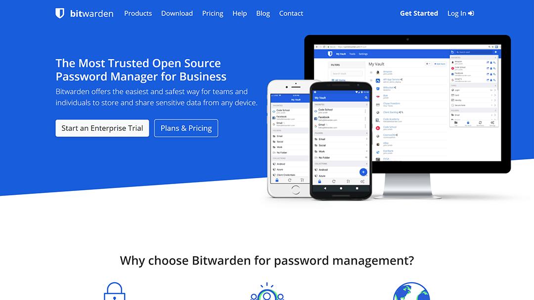 bitwarden.com - 7 alternativas gratuitas a LastPass