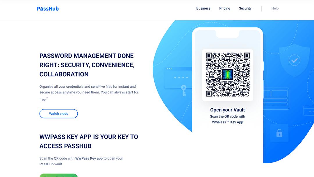 passhub.net - 7 alternativas gratuitas a LastPass