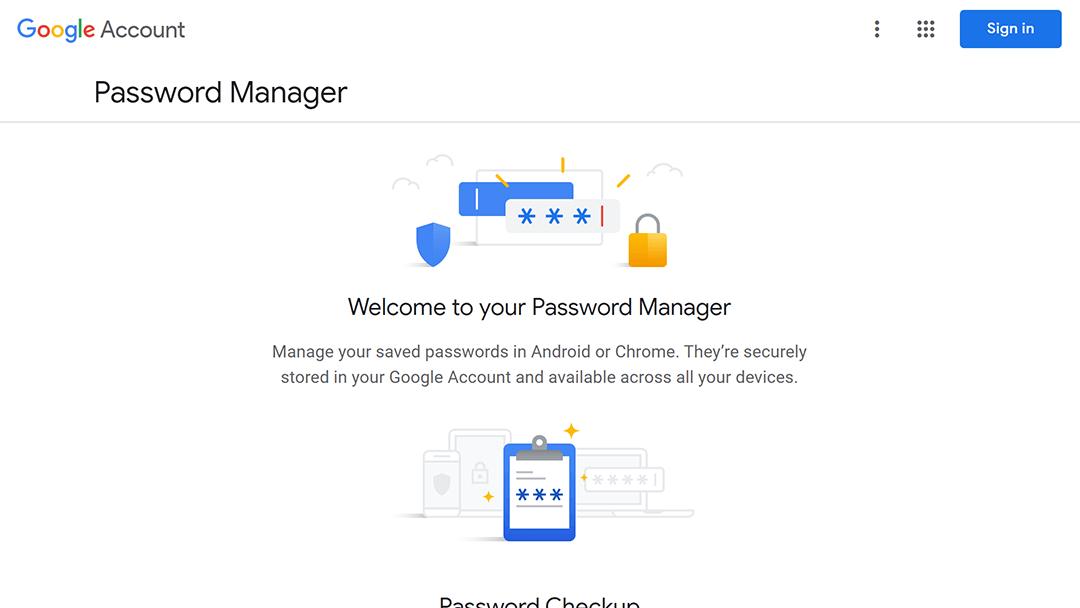passwords.google - 7 alternativas gratuitas a LastPass