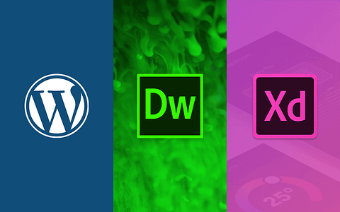 Dreamweaver Adobe XD o WordPress