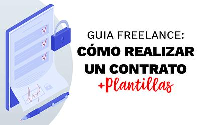 Cómo realizar un contrato para servicios web + plantillas